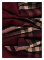 BURBERRY Cashmere-Schal, Farbe: DUNKELROT/ BEIGE/ SCHWARZ (Bild 1)