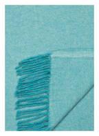 PROFLAX Plaid CLOUD, Farbe: TÜRKIS (Bild 1)