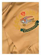 BURBERRY Cashmere-Schal, Farbe: GELB (Bild 1)