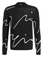 GIORGIO ARMANI Pullover , Farbe: SCHWARZ/ WEISS (Bild 1)