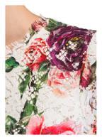 DOLCE&GABBANA Spitzenkleid, Farbe: WEISS/ PINK/ GRÜN (Bild 1)