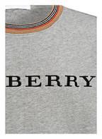 BURBERRY Sweatkleid, Farbe: GRAU MELIERT (Bild 1)