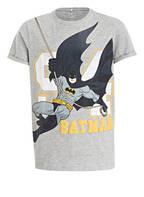 name it T-Shirt SUPERHERO, Farbe: GRAU MELIERT (Bild 1)