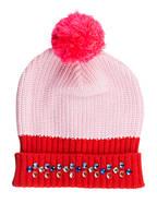 Billieblush Set: Mütze und Schal, Farbe: ROT/ ROSA (Bild 1)