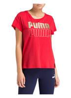 PUMA T-Shirt MODERN SPORT, Farbe: ROT (Bild 1)