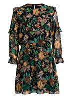 SCOTCH R'BELLE Kleid JUNGEL, Farbe: SCHWARZ/ GRÜN/ DUNKELROT (Bild 1)