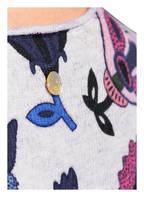 LIEBLINGSSTÜCK Pullover , Farbe: HELLGRAU/ DUNKELBLAU/ PINK (Bild 1)