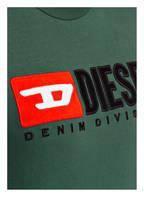 DIESEL T-Shirt JUST-DIVISION, Farbe: GRÜN (Bild 1)