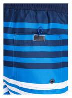BOSS Badeshorts SANDFISH, Farbe: BLAU/ WEISS (Bild 1)