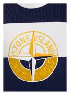 STONE ISLAND Pullover, Farbe: WEISS/ DUNKELBLAU (Bild 1)