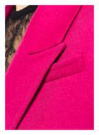 ALEXANDER McQUEEN Schurwollmantel mit Cashmere-Anteil , Farbe: FUCHSIA (Bild 1)
