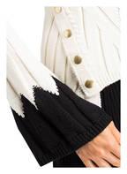 ALEXANDER McQUEEN Strickpullover, Farbe: IVORY/ SCHWARZ (Bild 1)