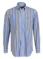 PAUL & SHARK Hemd Regular Fit, Farbe: NAVY/ OLIV/ WEISS GESTREIFT (Bild 1)