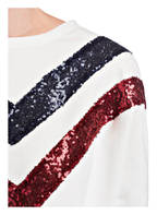 DARLING HARBOUR Sweatshirt , Farbe: WEISS/ DUNKELBLAU/ ROT (Bild 1)