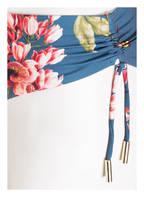 MARYAN MEHLHORN Bügel-Bikini FLEURI, Farbe: BLAU/ GRÜN/ ROSA (Bild 1)