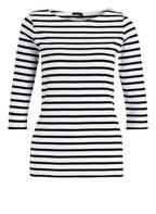 DARLING HARBOUR Shirt mit 3/4-Arm, Farbe: SCHWARZ/ WEISS GESTREIFT (Bild 1)