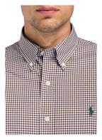 POLO RALPH LAUREN Hemd Classic Fit, Farbe: BRAUN/ WEISS (Bild 1)
