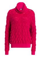 BOSS Rollkragenpullover IREANA, Farbe: PINK (Bild 1)