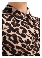 BAUM UND PFERDGARTEN Kleid ALHAM , Farbe: CREME/ DUNKELBRAUN/ BRAUN (Bild 1)