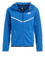 Nike Hoodie PERFORMANCE, Farbe: BLAU (Bild 1)