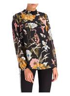 FREEQUENT Bluse LOWE, Farbe: SCHWARZ/ ROSA/ WEISS (Bild 1)