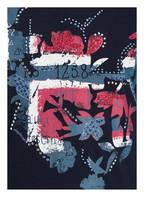 NAPAPIJRI Longsleeve SAENTIS mit Stickereien und Nietenbesatz, Farbe: MARINE (Bild 1)