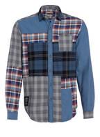 NAPAPIJRI Flanellhemd GORI Regular Fit, Farbe: BLAU/ DUNKELBLAU/ CREME (Bild 1)