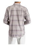 Marc O'Polo Hemd Regular Fit, Farbe: CREME/ BRAUN/ HELLBLAU (Bild 1)