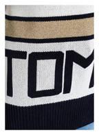 TOMMY HILFIGER Pullover TAMARAH, Farbe: DUNKELBLAU/ WEISS/ GOLD (Bild 1)