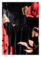 FOUR FLAVOR Samtkleid ISOLDE, Farbe: SCHWARZ/ BEIGE/ ROT (Bild 1)