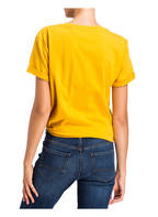 TOMMY JEANS T-Shirt COLLEGE, Farbe: GELB (Bild 1)