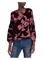 DARLING HARBOUR Blusenshirt, Farbe: DUNKELROT/ ROSA (Bild 1)