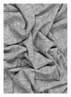 Faliero Sarti Schal mit Seidenanteil, Farbe: GRAU MELIERT (Bild 1)