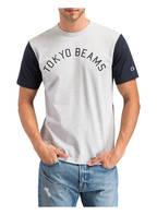 Champion T-Shirt TOKYO, Farbe: HELLGRAU MELIERT (Bild 1)
