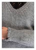 Dondup Pullover mit Alpaka-Anteil, Farbe: GRAU MELIERT (Bild 1)