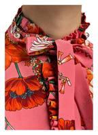 GUCCI Schluppenbluse, Farbe: PINK/ ORANGE (Bild 1)