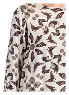 Princess GOES HOLLYWOOD Seidenbluse, Farbe: WEISS/ TAUPE (Bild 1)