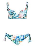 Lidea Bügel-Bikini PALAU, Farbe: BLAU/ WEISS/ GRÜN (Bild 1)
