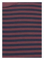 mey Lounge-Shirt, Farbe: ROT/ DUNKELBLAU (Bild 1)