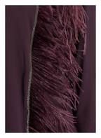 FABIANA FILIPPI Seidenshirt mit 3/4-Arm , Farbe: DUNKELLILA (Bild 1)