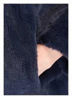 STAND BLACK NUDE Kunstfellmantel CAMILLE, Farbe: DUNKELBLAU (Bild 1)