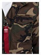 ALPHA INDUSTRIES Fieldjacket , Farbe: KHAKI/ SCHWARZ/ BRAUN (Bild 1)