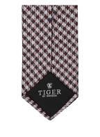 TIGER of Sweden Krawatte TARIF, Farbe: DUNKELROT/ GRAU (Bild 1)