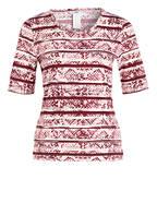 JOY sportswear T-Shirt ARIELLE, Farbe: DUNKELROT/ WEISS (Bild 1)