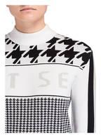 JET SET Pullover ALMA mit Cashmere-Anteil, Farbe: SCHWARZ/ WEISS/ GRAU (Bild 1)