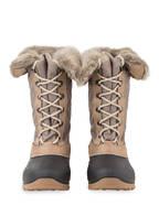 CMP Boots NIETHOS mit Kunstfellfutter, Farbe: BRAUN/ TAUPE (Bild 1)