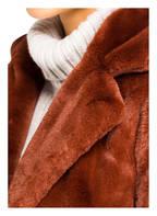 OAKWOOD Kunstpelzmantel CYBER , Farbe: HELLROT (Bild 1)