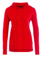 DARLING HARBOUR Cashmere-Hoodie, Farbe: ROT (Bild 1)