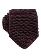 EDUARD DRESSLER Strickkrawatte, Farbe: BORDEAUX (Bild 1)