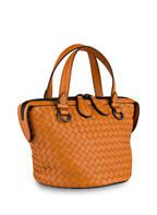 BOTTEGA VENETA Handtasche TAMBURA, Farbe: ORANGE (Bild 1)